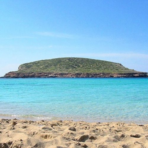 The climate table of Ibiza