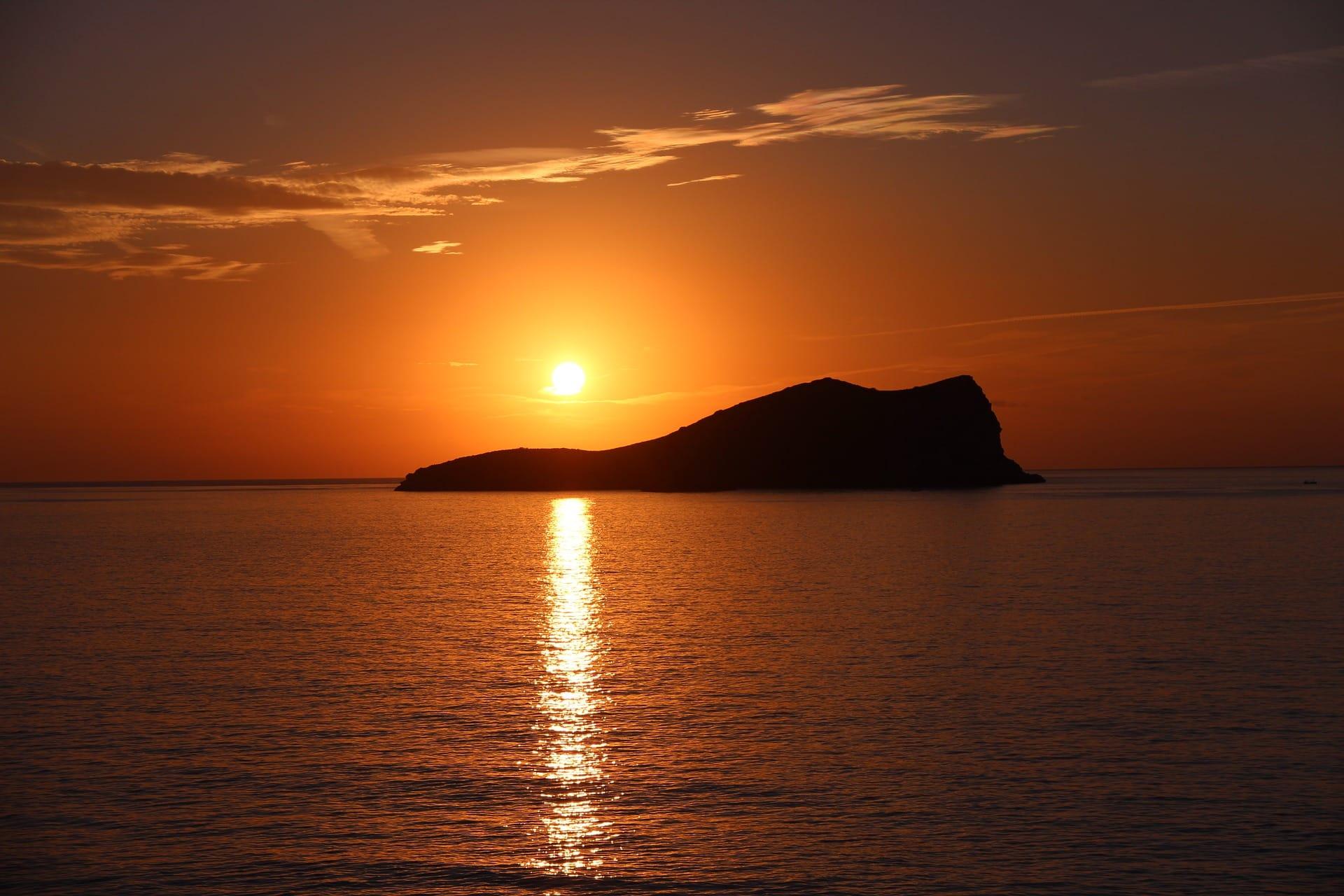 Der goldene Herbst auf Ibiza